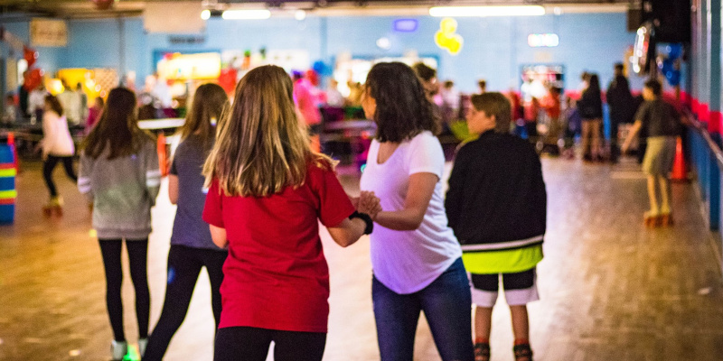 Roller Skating Party in Rocky Mount, North Carolina