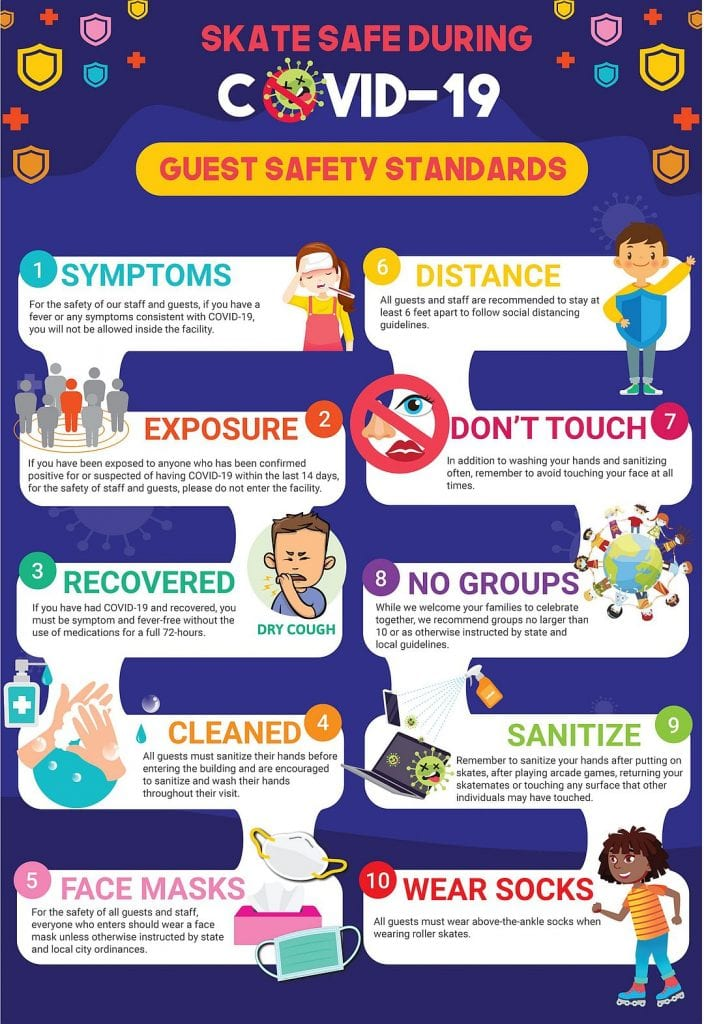Covid-10 Guest Safety Poster