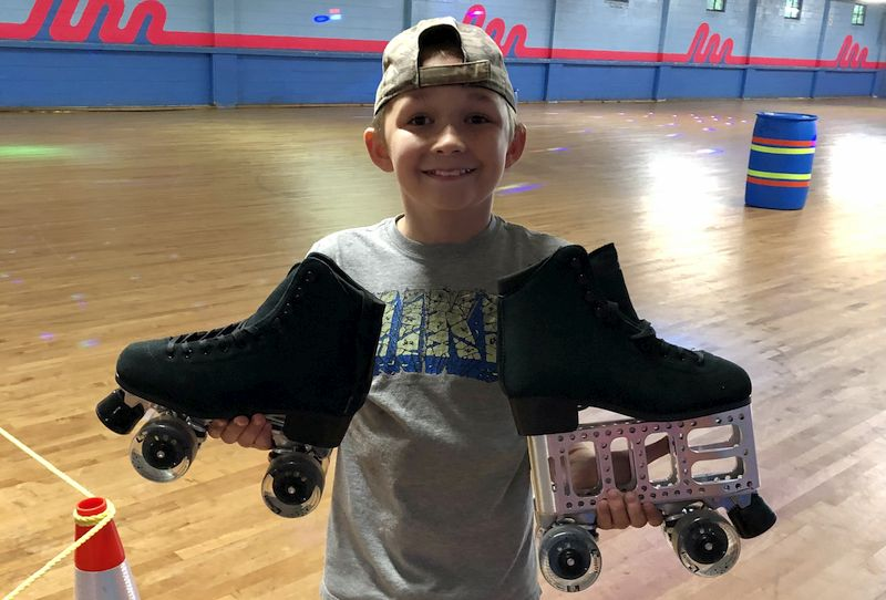 Is it Possible to Roller Skate with One Leg Shorter than the Other?