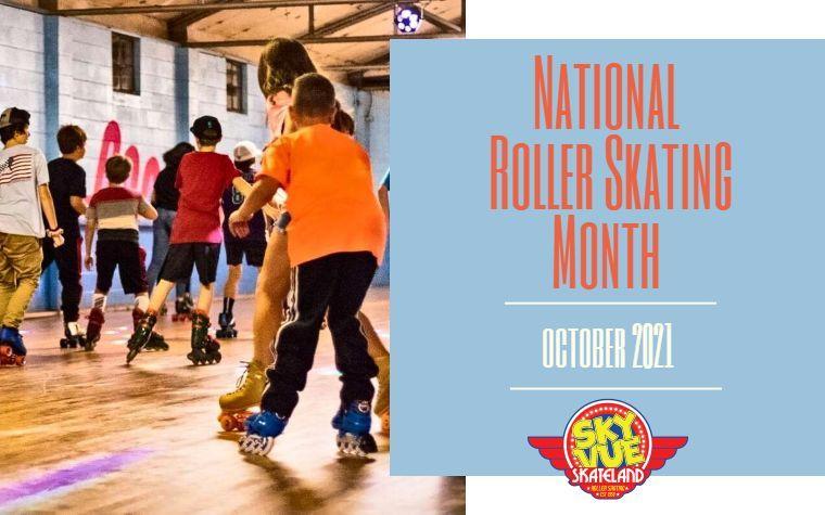 October Is National Roller Skating Month